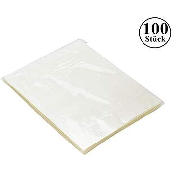 100 St/ück Laminierfolien A4 matt 150 Mikron