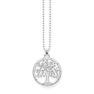 Thomas Sabo Damen-Kette Tree of Love Glam & Soul 925 Sterling Silber KE1660-001-21-L45v