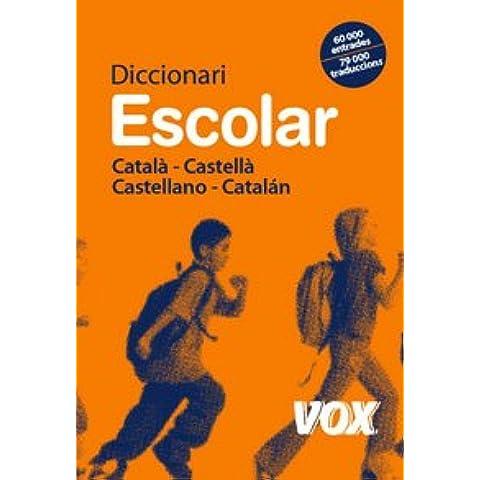Diccionari Escolar Català-Castellà / Castellano-Catalán (Vox - Lengua Catalana - Diccionarios