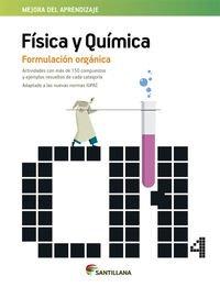 FISICA Y QUIMICA FORMULACION ORGANICA - 9788468086897 por Aa.Vv.
