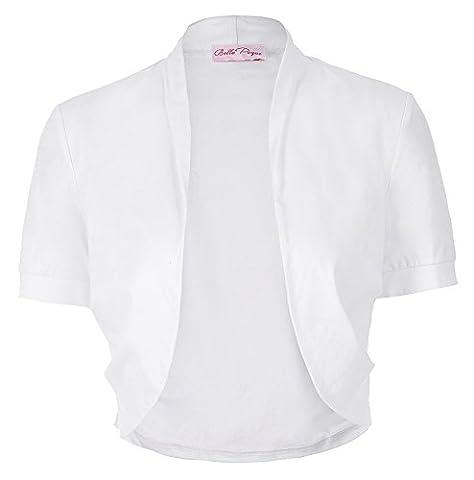 Elegant Short Sleeve Cardigan Cover Up pour Ladies Tops Plus Size JS215-2 M