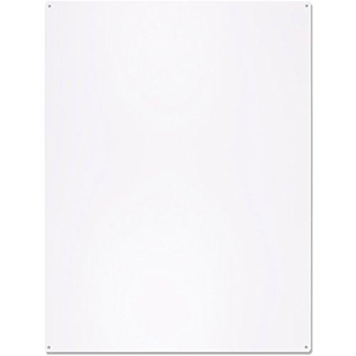 KalaMitica 25074-900-057 Pizarra para imanes, Acero, Blanco, 74x57x0,12 cm