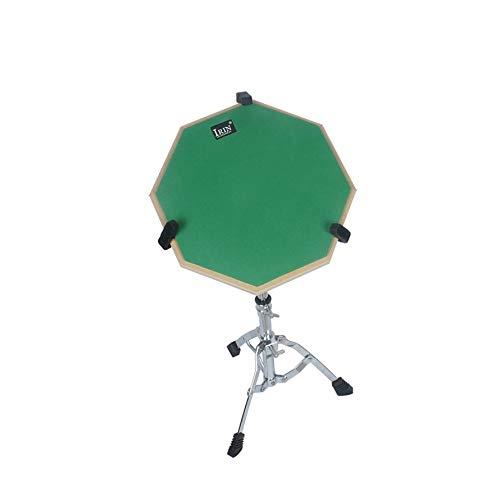 HoganeyVan 12-Zoll-Drum-Übungsmatte Hit Board-Übungsdämpfer für Anfänger Ruhiges Training Drum Pad