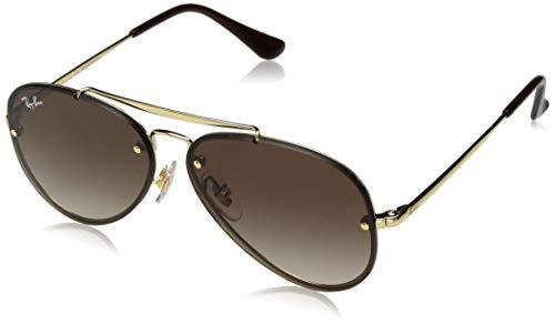Ray-Ban Unisex-Erwachsene 0RJ9548SN Sonnenbrille, Mehrfarbig (Gold), 54 (Ray-ban Jr Sonnenbrille)