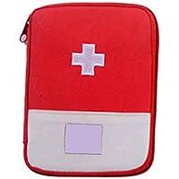 Lorjoy Acampar Bolsa Bolsa médica de Emergencia de Supervivencia Kit de Primeros Auxilios del Recorrido del hogar
