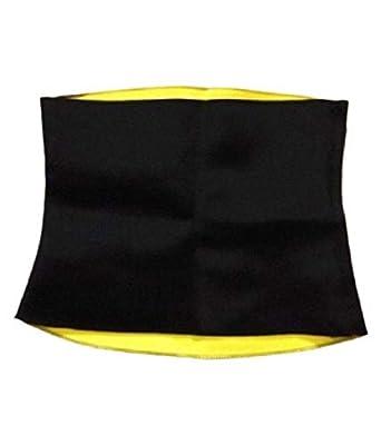 RAPID Unisex Slim Look Sweat Generator Tummy Tucker Waist Shaper Belt (Black,XXL)