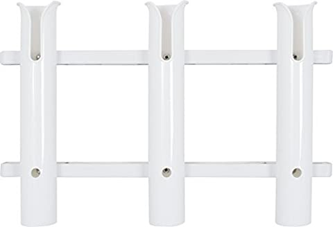 Fladen Outdoor Triple Rod Holder - White by FLADEN