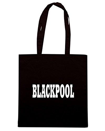 T-Shirtshock - Borsa Shopping WC0778 BLACKPOOL Nero