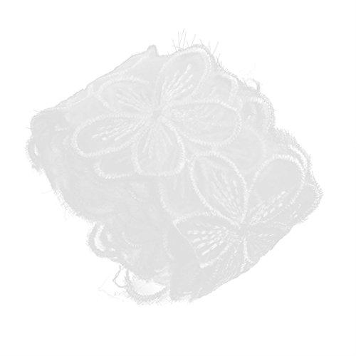 sourcingmap Polyester Blumen Des...