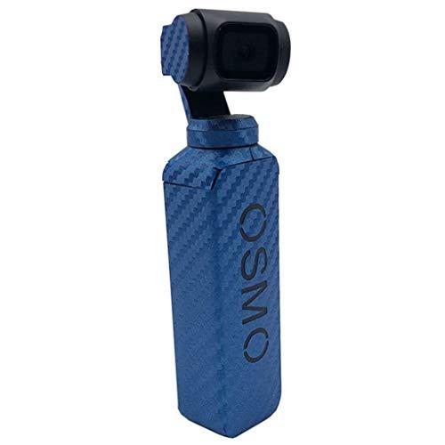 KPILP Wasserdichte PVC-Kohlefaser-Hautverpackungskorn-Grafik-Aufkleber für DJI OSMO-Tasche,Perfekte Schutzkamera, mehrere Farben