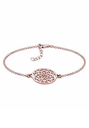 Elli Damen Armband mit Traumfänger Symbol Boho Hippie in 925 Sterling Silber