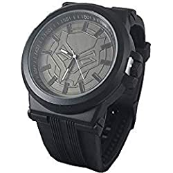 Marvel Black Panther - Reloj para Hombre, Color Negro