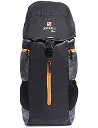 7544b7010594 Chris   Kate Black Travel Rucksack Backpack-Trekking Backpacks-Camping  Daypack Bag(CKB 205KF