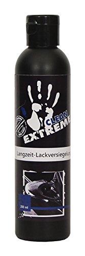 Preisvergleich Produktbild CLEANEXTREME Protect 12 Auto Lackversiegelung 200 ml - Silikonölfreie Versiegelung für Autolack, Autofolie, Gelcoat, GFK. Bis zu 12 Monate Schutz durch Versiegeln