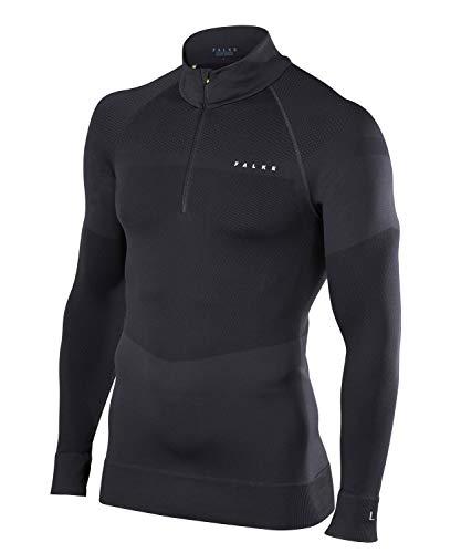 FALKE Herren Pullover Ski Black, L