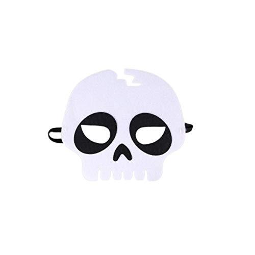 (Delicacydex Halloween Maske Halloween Make Up Maske Halloween Kostüm Kostüme - Skull)