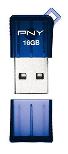 Pny Micro Sleek USB 2.0 16GB Pen Drive (Blue)