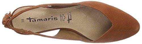 Tamaris - 29402, sandali punta chiusa Donna Arancione (Orange (BRICK 544))