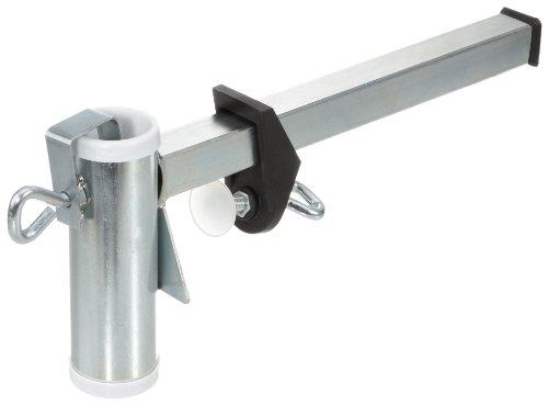 Videx 14204 Sonnenschirmhalter Typ M für Mauerbrüstung verzinkt 3,5 cm Durchmesser