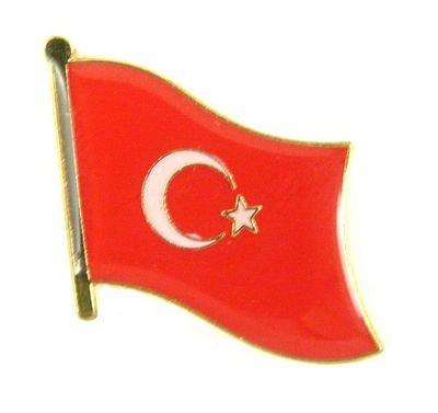 Flaggen Pin Fahne Türkei NEU Pins Anstecknadel