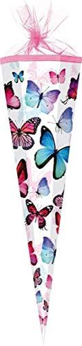 Scooli Butterfly Schulranzen Set 10tlg. Dose/Flasche Sporttasche und Schultüte 85cm BUKR8251 - 8