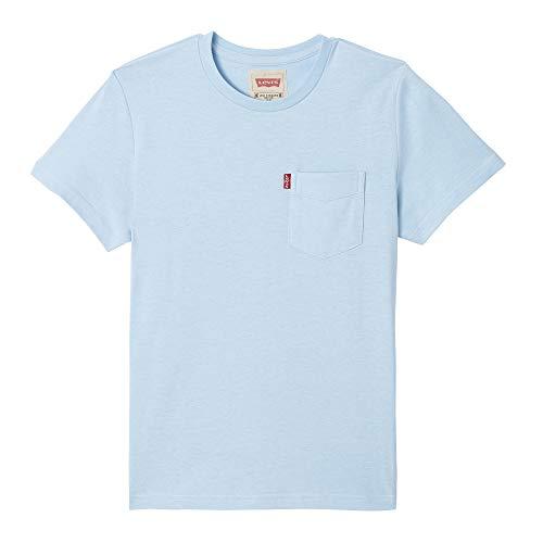 Levi's Kids Jungen Nn10377 41 Short Sleeve Tee T-Shirt, Blau (Light Blue, 12 Jahre (Herstellergröße: 12Y) -
