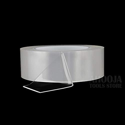 ZAMAOZHU Multifunktions-Nano-Klebeband Kein Rückstand Rutschfestes Gel-Grip-Klebeband Innen Außen Waschbar Recycelbar Doppelseitiger Klebstoff -