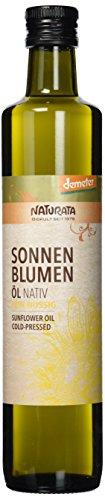 Naturata Bio Sonnenblumenöl fein-nussig, 500 ml