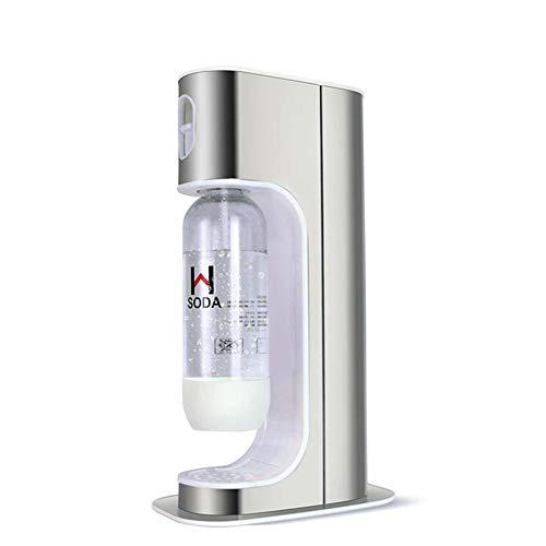Seasaleshop Easy Vorteilspack Wassersprudler, 0,6 l Hubraum | 1 Soda Bubble Maker | 1 Carbonator-Zylinder | Hersteller-Mineralwasser-Getränkeautomaten-Maschine für Haustee-Shop-Gebrauch.