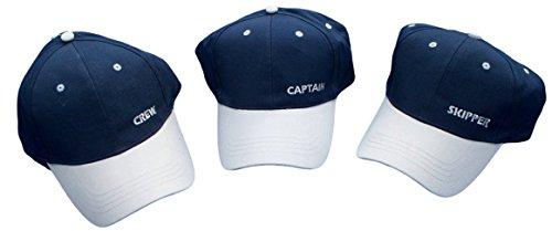 Thorness Captains Hat/Skipper/Crew - Set of 3 Baseball caps