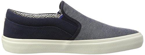 Jack & Jones Jfwrush Textile Mix Navy Blazer, Sneakers Basses Homme Bleu (Navy Blazer)
