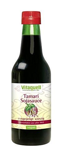 Soja-Sauce Tamari Bio, 250 ml für die asatische Küche natürlich vegan und glutenfrei