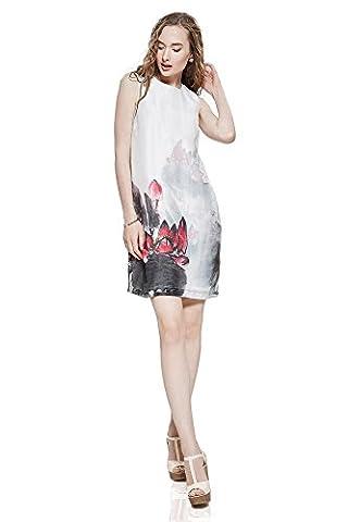 Sommerkleid Xandra Mini ärmellos Freizeitkleid mit Blumendruck Damen Kleider von der Marke Nothing But Love (42)
