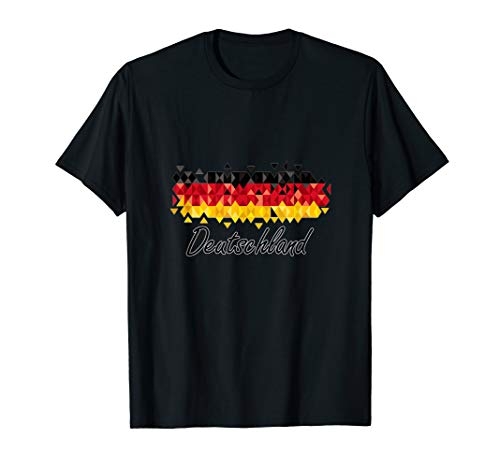 Deutschland Flagge t-shirt, Germany flag t-shirt laasq