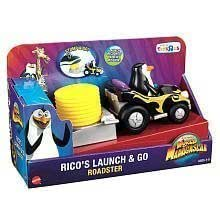 Fisher-Price Madagascar 3 Rico's Launch and Go Roadster by mattel (English Manual)
