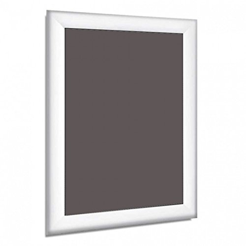 white a4 a3 a2 a1 a0 mitred snap frames wall posters holder click