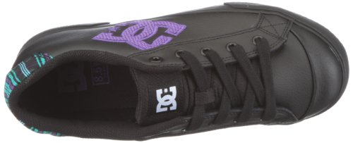 DC Shoes Chelsea LE D0302863, Sneaker donna Nero (Schwarz/Black)