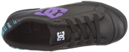 DC Shoes Chelsea 2 Women trainer sneaker black leather UK 9 EUR 43 Black