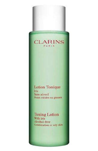 Clarins Belebende Lotion mit Iris (Mischhaut oder Fett) 6,8 Flüssigunzen -