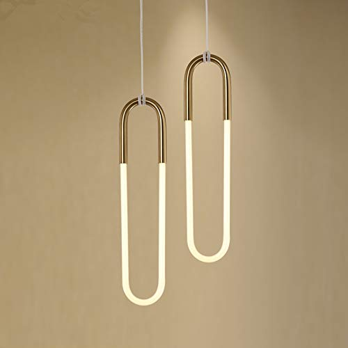 NEUERRAUM LED Glas Röhren Lampe Art Deco Lampe Vintage Cafè Kinolampe Bauhaus Lampe Minimalist Stil 30er - 50er Jahre. Single LED.