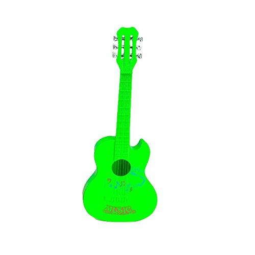 Forfar 4 Strings Musical Spielzeug aus Plastik Ukulele Kleiner britischer Stil Kindergitarre Grün