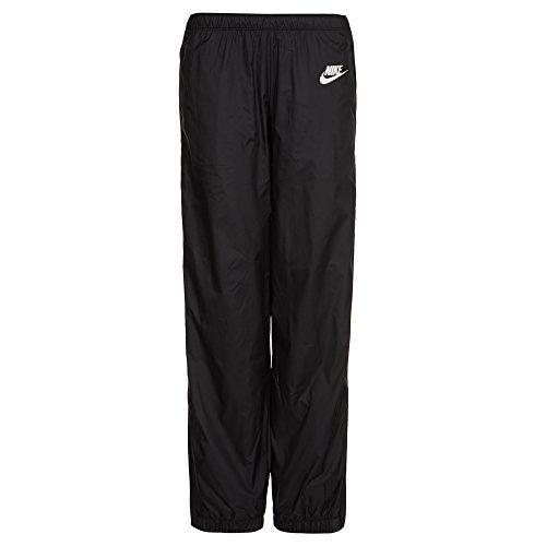 Nike Damen Trainingsanzug NSW Windrunner Warm-up Schwarz / Weiß