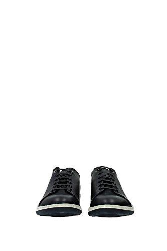X2X059XG520K151 Armani Giorgio Sneakers Homme Cuir Bleu Bleu