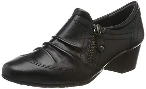 Jana 100% comfort Damen 8-8-24300-23 Slipper, Schwarz (Black 001), 42 EU