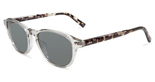 John Varvatos Herren V600 Gry Rund Sonnenbrille, Grey
