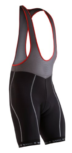 Descente Herren Coldout Bib Short, Herren, schwarz (Shorts Schwarz Descente)
