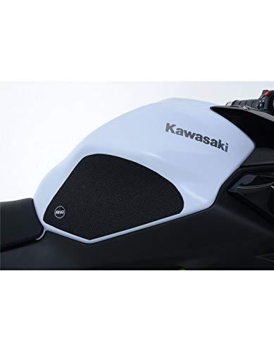 Motodak Kit Grip de réservoir R&G Racing Noir (4 pièces) Kawasaki Z650