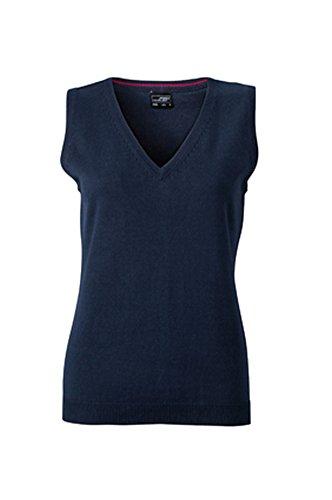 Klassischer Damen-Baumwoll-Pullunder im digatex-package XXL,Navy