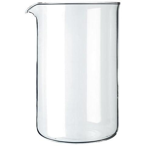 Bodum 1512-10 Ersatzglas für Kaffeebereiter 12