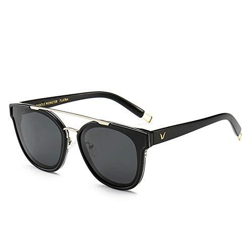 Wghz Polarisierte Spiegel Damen/heiße Sonnenbrille/Mode persönlichkeit Sonnenbrille/Retro Brille